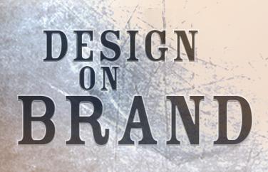 Design on brand